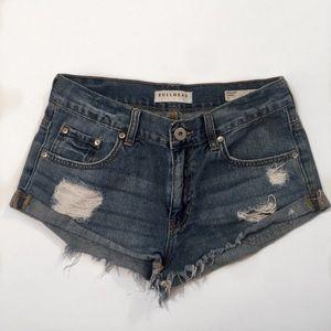 Bullhead Slouchy Jean Shorts
